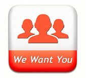 We want you sign. job search vacancy for jobs online job application help wanted hiring now job sign
