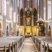 Inside The Marktkirche