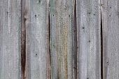 Old Unpainted Wooden Fence