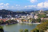 View on Kandy City, SriLanka