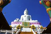 White  Buddha And Architecture