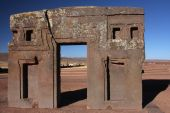 Tiwanaku Gate Of The Sun