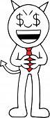 Devil Businessman