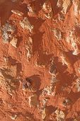 Ocher Wall (roussillon, France)