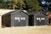 sheds. huts. storage