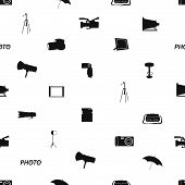 photographic icon pattern