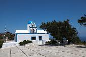 Chapel On Santorini Island