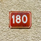 Number 180