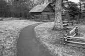 Puckett Cabin - Blue Ridge Parkway, Virginia