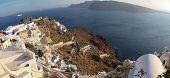 Oia On Santorini Island In The Cyclades