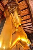 Golden Buddha Temple Wat Pho Bangkok Thailand