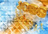 3D JOBS CONCEPT