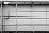 Scaffolding and fire escape