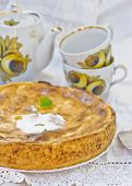 Apples And Cottage Cheese Pie