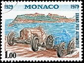 Monaco Grand Prix Stamp
