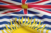 Canadian Provinces Flags Series - British Columbia