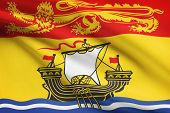 Canadian Provinces Flags Series - New Brunswick
