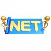 Web Builders Internet Construction Holding Blueprint With NET