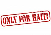 Only For Haiti