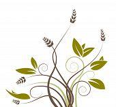 Green Flower Pattern