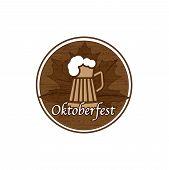 Brown Oktoberfest stamp