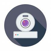 Web cam icon.