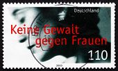 Postage Stamp Germany 2000 Prevention Of Violence Against Women