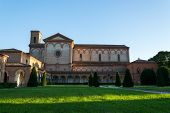 stock photo of ferrara  - The monumental graveyard of Ferrara city Italy - JPG