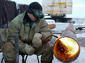 Russia, Nadym - November 23, 2013: ?orporation Gazprom In Novy Urengoy, Yanao,  In Nadym, Russia - N