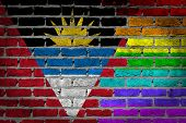 Dark Brick Wall - Lgbt Rights - Antigua And Barbuda
