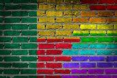 Dark Brick Wall - Lgbt Rights - Benin