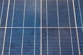 Close-up Of Some Solar Energy Panels For Electricity Production
