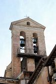 Bell Tower At Vittorio Emmanuele Monument In Rome