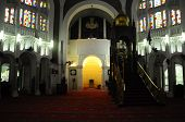 Mihrab of Sultan Sulaiman Mosque in Klang