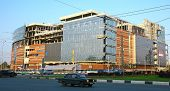 Construction Of New Shopping Center In Nizhny Novgorod