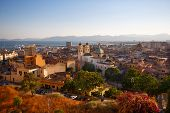 View of Cagliari, Sardinia, Italy, Europe
