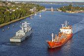 Kiel - Tanker At The Kiel Canal