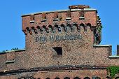 Wrangel Tower - Strengthening Of Koenigsberg. Kaliningrad, Russia