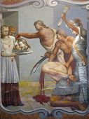 stock photo of beheading  - The Beheading of Saint John the Baptist - JPG
