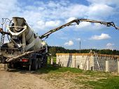 Concrete Mixer Truck With Pump