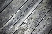 Grey Wood Planks Diagonal