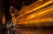 Reclining giant Buddha