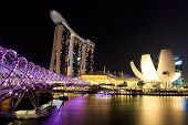 Singapore  Marina Bay  Night