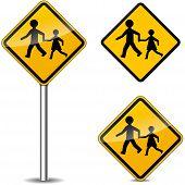 Pedestrians Signs