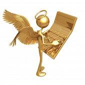 Angel Using Golden Calculator