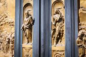 The Gate Of Paradise - Baptistery, Florence