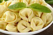 Close Up Of Tortellini