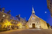 Place Royale In Quebec City, Canada