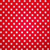 Red Tablecloth for Background.