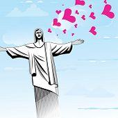 Brazil Love God Vector